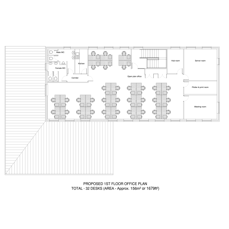 Example Office Space Plan